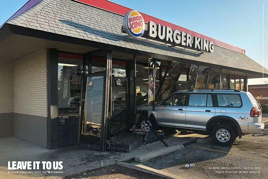 汉堡王这个广告创意满分,不火才怪呢