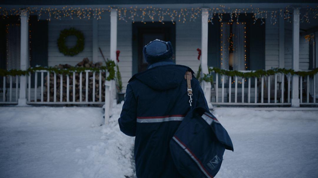 冬天的气息,从圣诞广告开始